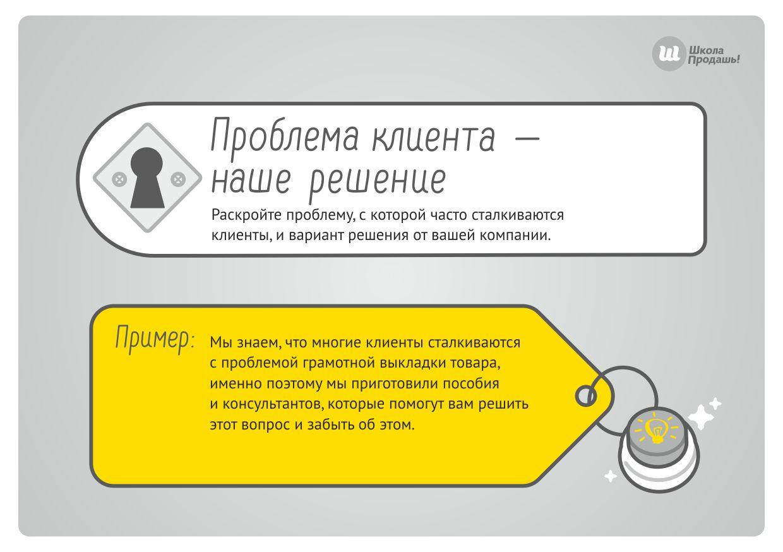 Проблема клиента как метод убеждения клиента